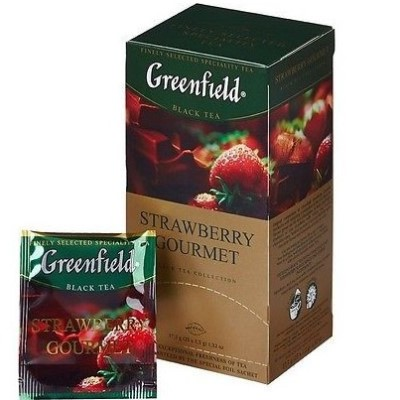 Te Strawberry Gourmet 25x1.5g